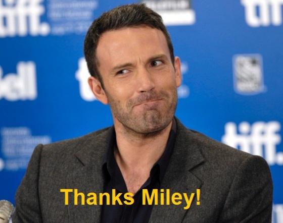 Thanks Miley!